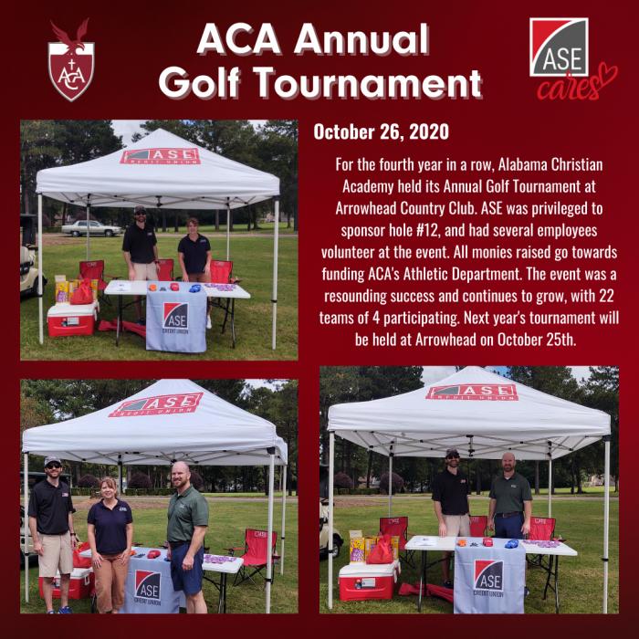 Aca Annual Golf Tournament